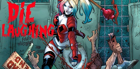 harley quinn die laughing