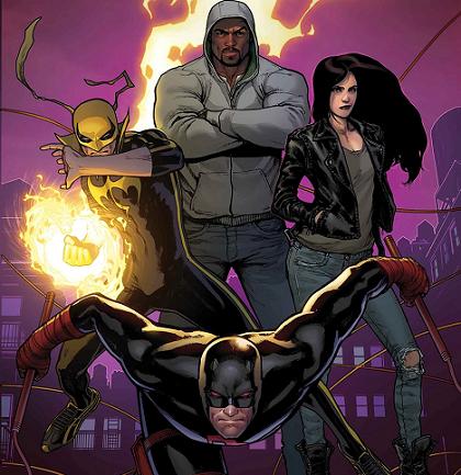 defenders comic